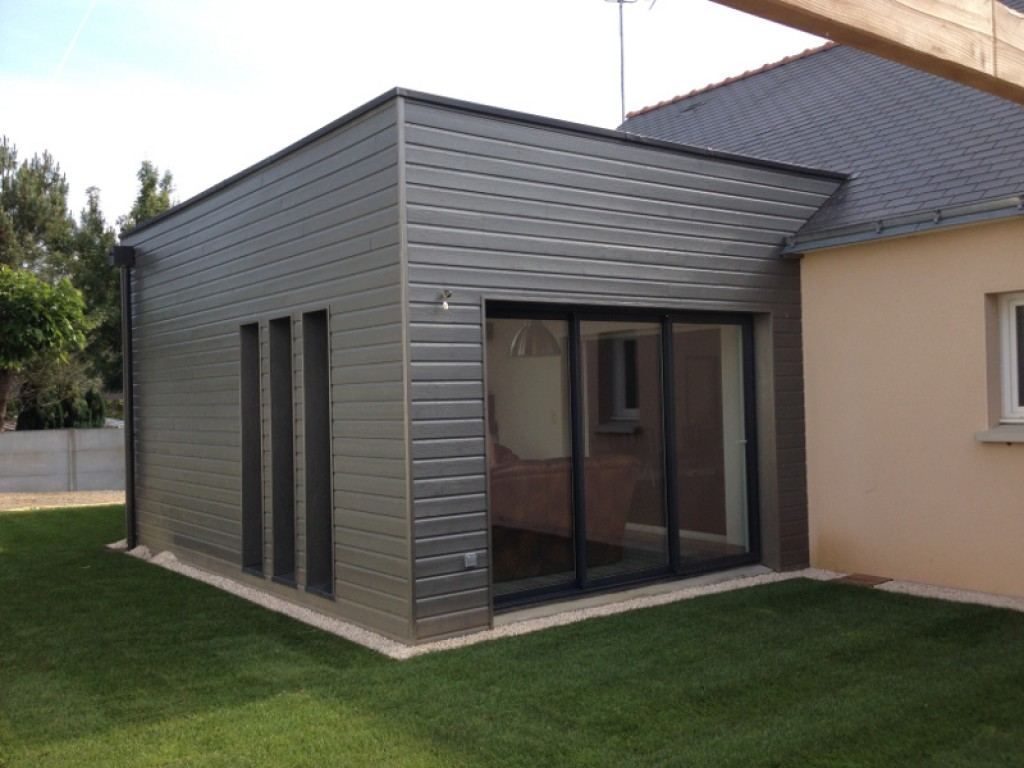 R alisation bardage maison isolation habitat par l 39 ext rieur for Isolation facade exterieur
